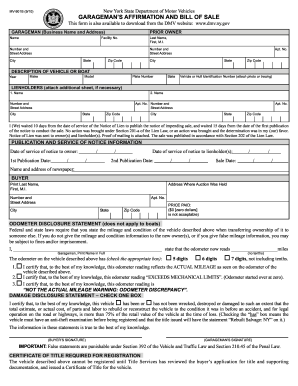 Bill Of Sale Form 2010 2017 Form Ny Mv 901b Fill Online Printable Fillable
