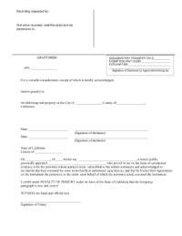 Kern Deed - Fill Online, Printable, Fillable, Blank ...