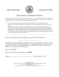 State Of California Resale Certificate Fillable - Fill ...