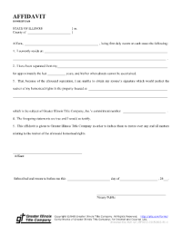 Form Application For Homestead Exemption Legal Forms ...