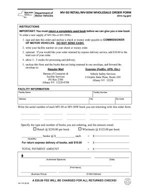 Bill Of Sale Form Printable Bill Of Sale Forms Mv 50 Fill Online Printable Fillable Blank Pdffiller