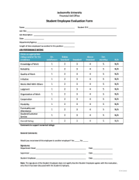 Employee Evaluation Forms and Templates - Fillable ...