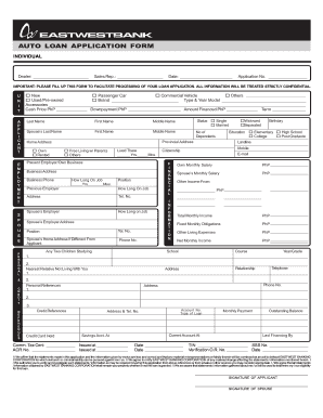 21 Printable auto loan rates Forms and Templates - Fillable Samples in PDF, Word to Download ...