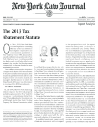Fillable Online TAX ABATEMENT POLICY Authority Minnesota