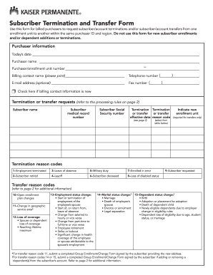 Release Of Information Form Kaiser Permanente | Curriculum Vitae ...