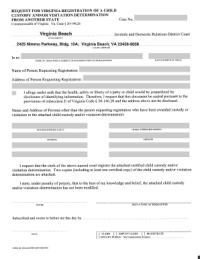 Bill Of Sale Form Virginia Child Custody Form Templates