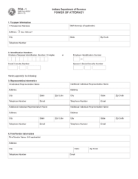 General Power Of Attorney Form Templates - Fillable ...