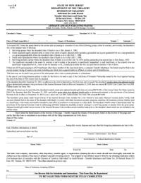 Bill Of Sale Form New Jersey Affidavit Of Service ...
