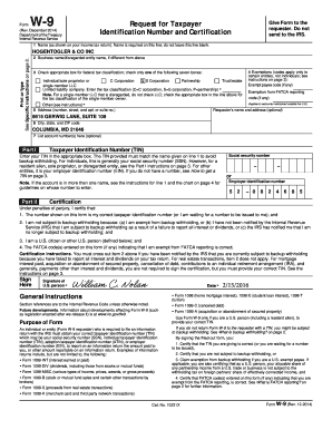 Form W 9 Irs | Create professional resumes online for free Sample ...