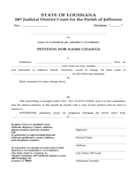 24th District Court Of Jefferson Parish Louisiana Name ...