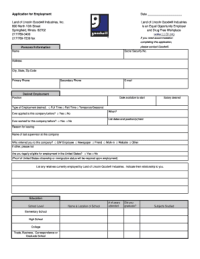 Bill Of Sale Form Illinois Employment Application ...