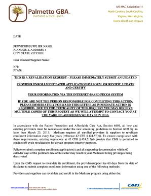 Medicare Enrollment Forms 855b | Resume Cover Letter For Gym