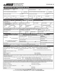 2013 Form MD VR-005 Fill Online, Printable, Fillable ...