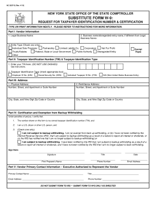 Blank W 9 Form New York | Best Resumes Curiculum Vitae And Cover ...