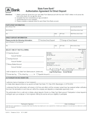Editable state farm authorization and direction to pay form - Fillable & Printable Online Forms ...