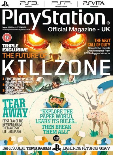 Download PlayStation Official Magazine UK – March 2013 - PDF Magazine