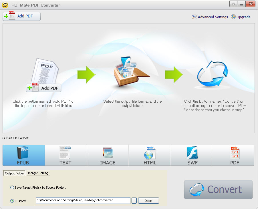 PDFMate Free PDF Converter - Easy PDF to Text Converter - Convert File To Pdf