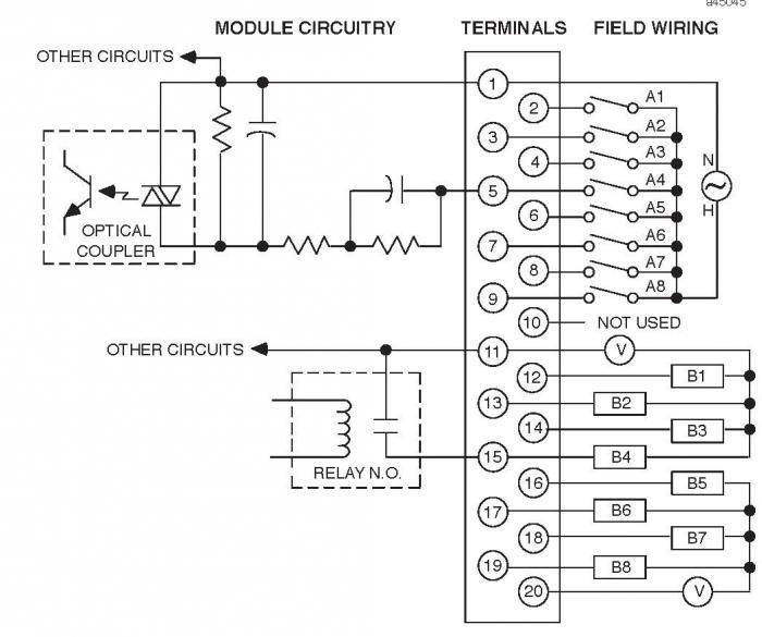 apollo intelligent input output unit wiring diagram