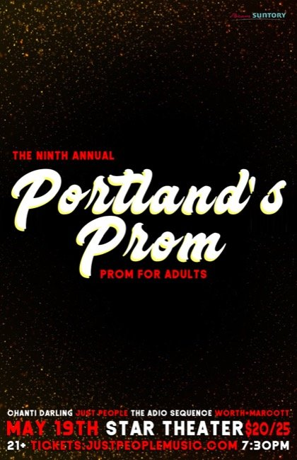 2018 Portland\u0027s Prom @ Star Theater The Prom You Wish You\u0027d Had