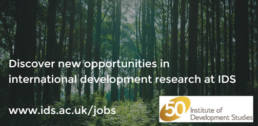 Research Fellow in Conflict and Violence - Institute of Development Studies
