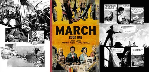John Lewis' Graphic Novel to Be Taught in NYC Public Schools