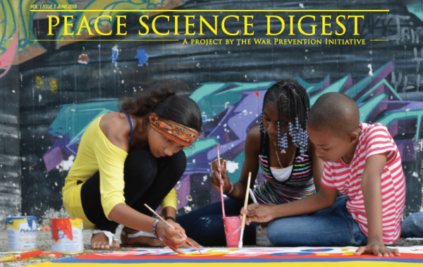 Peace Science Digest Volume 1, Issue 3