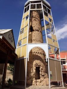 9th Century Minaret in Ayni, Tajikistan