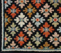 Floral Pattern Carpet on Peaceful Wind