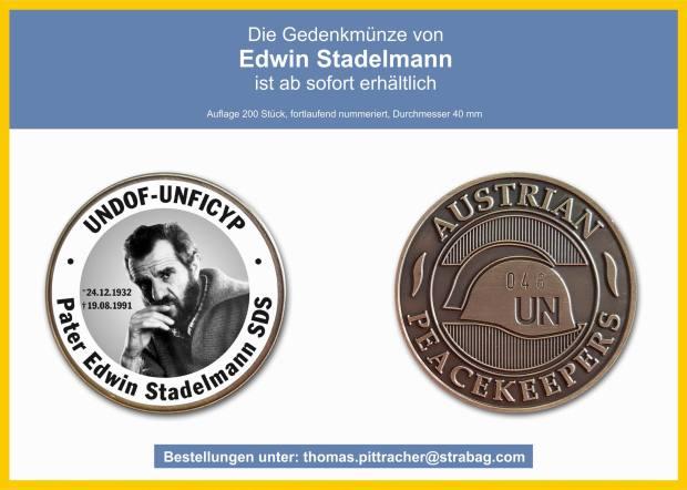 GrößenänderungGedenkmünze Edwin Stadelmann