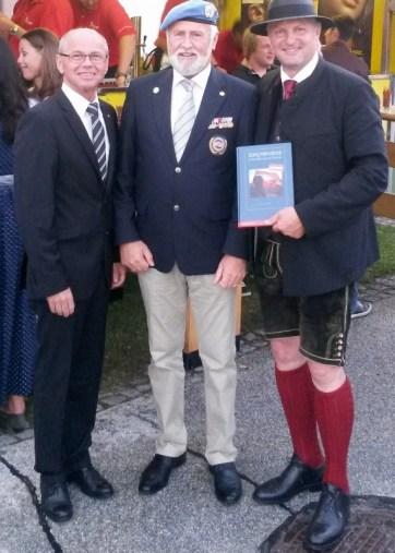 Landeshauptmannstellvertreter Stöckl, Salzburger Landesleiter Utz und Bürgermeister Gappmaier (v. l.)
