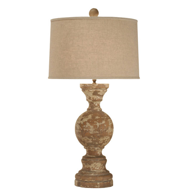 260a Wooden Lamps Zeugma Import