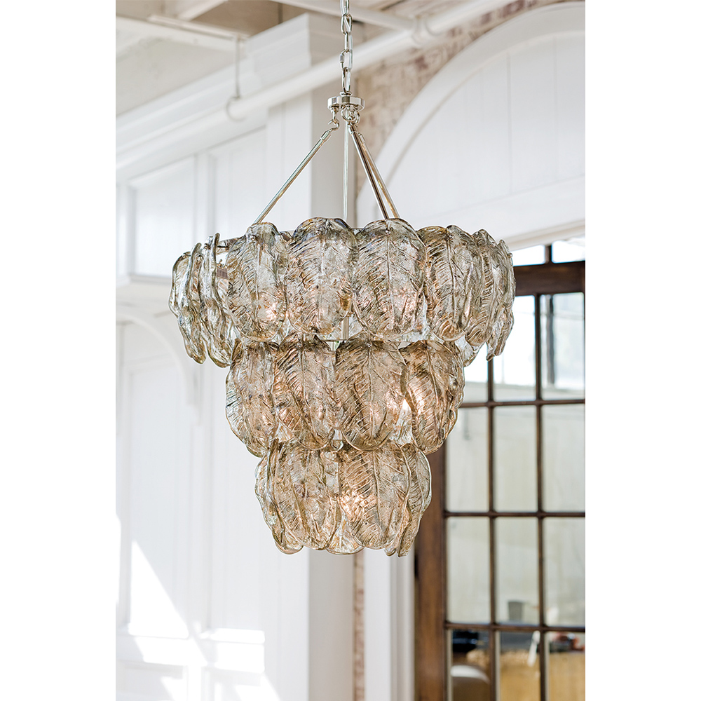 Regina andrew lighting silver leaves chandelier