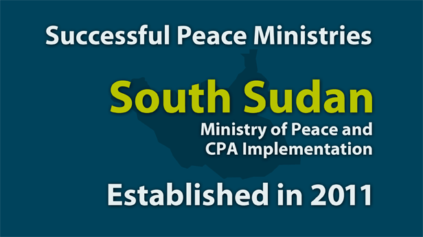 South Sudan Ministry of Peace and CPA Implementation