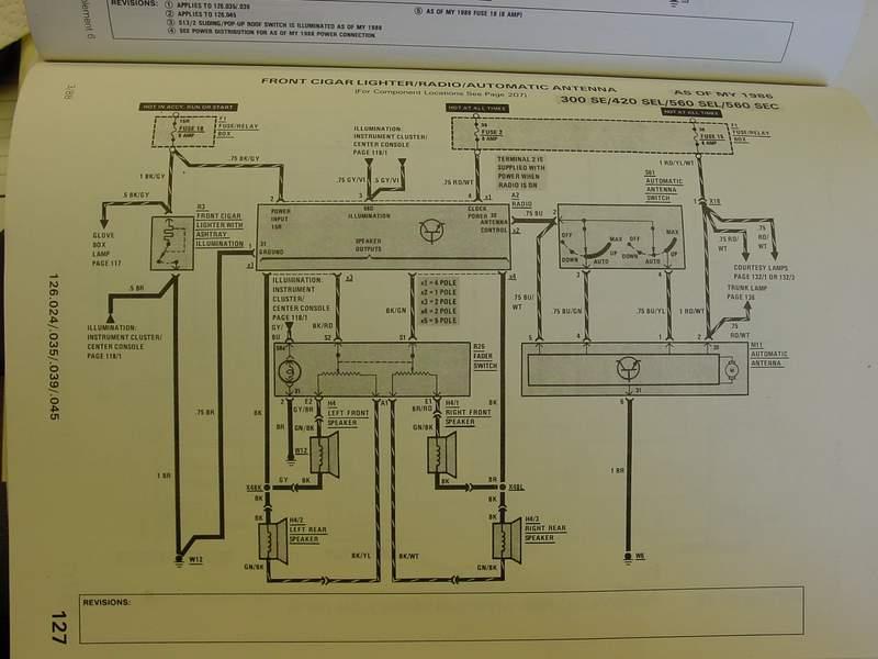 New Radio Wiring Issues Peachparts Mercedes Shopforum electrical