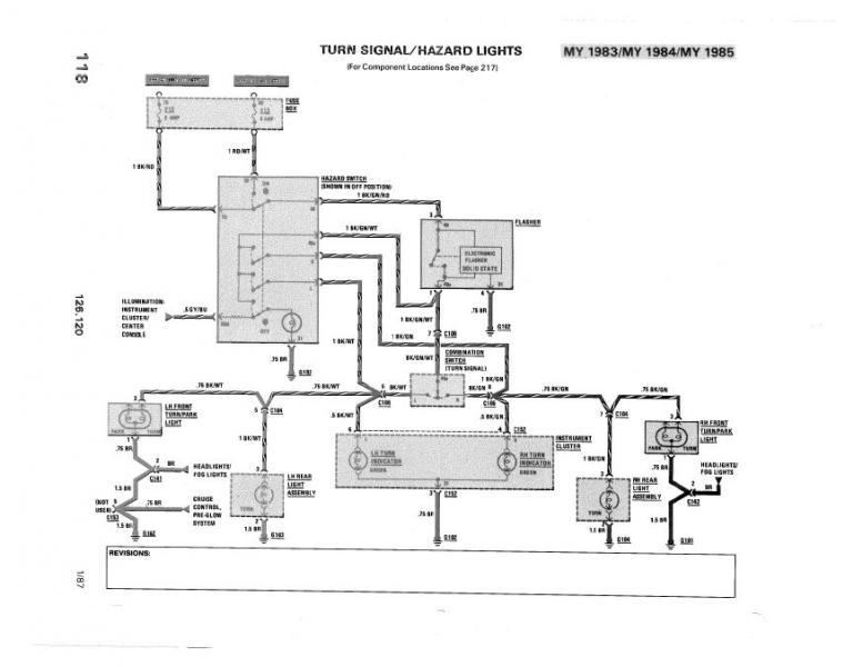 Turn signals, flasher do not work \u00271985 300SD - PeachParts Mercedes