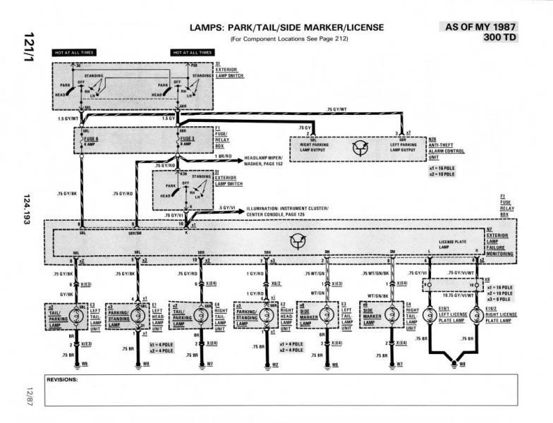 W124 300d Wiring Diagram - Somurich