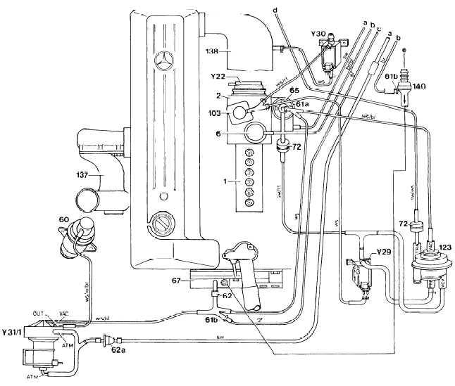 Mercedes 450sl Vacuum Diagram On 1976 Mercedes 450sl Vacuum Diagram
