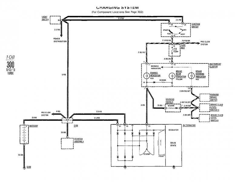 W123 Alternator Wiring - Wiring Diagrams