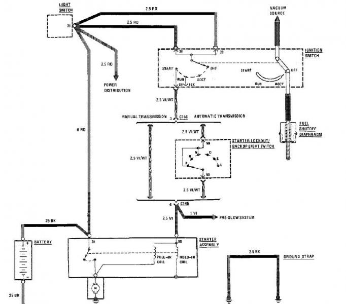 cat 3208 starter motor wiring diagram