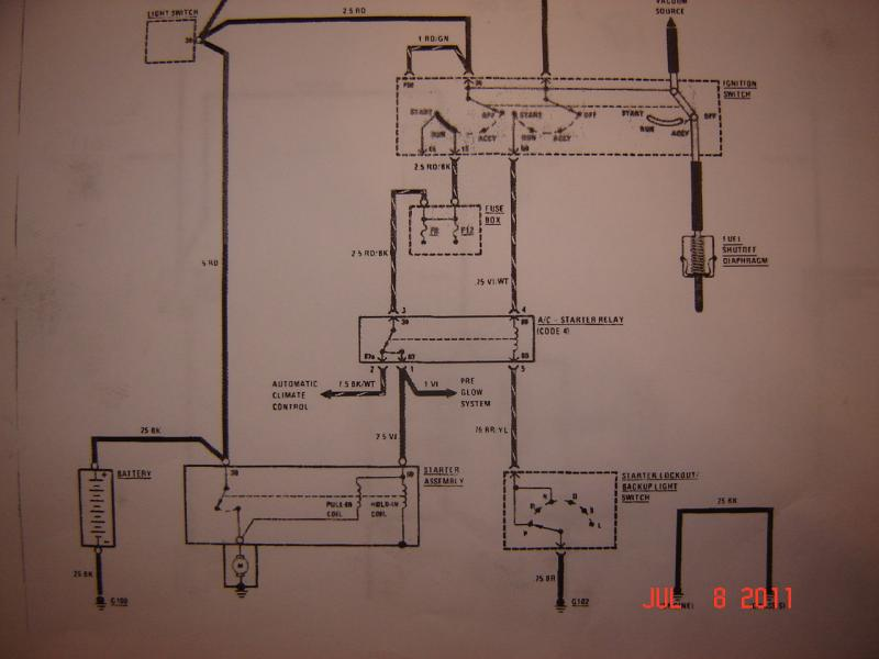 1981 300d Wiring Diagram Wiring Diagram