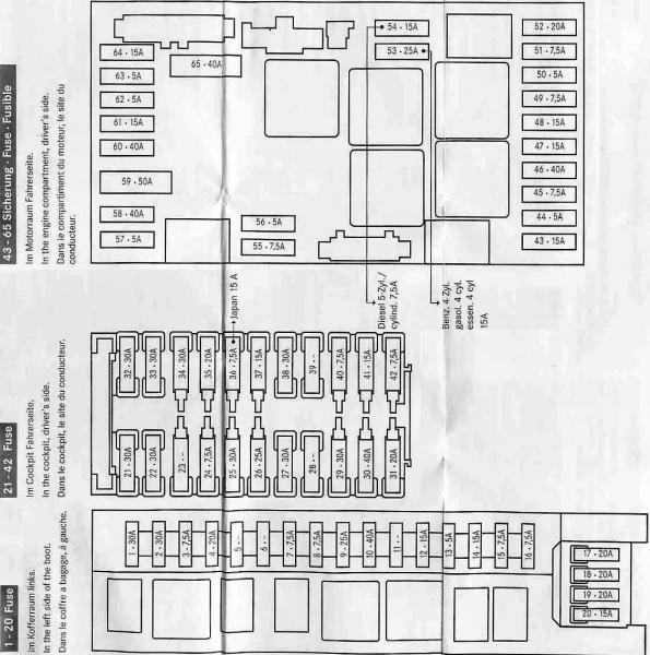 Mercedes Benz C230 Fuse Diagram Wiring Diagram