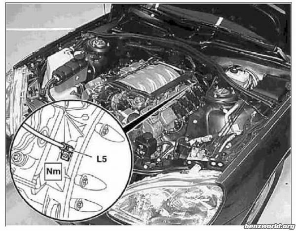 Crankshaft Position Sensor DIY - PeachParts Mercedes-Benz Forum