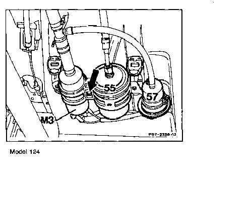 changing fuel filter mercedes