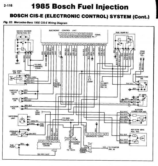 mercedes wiring schematics