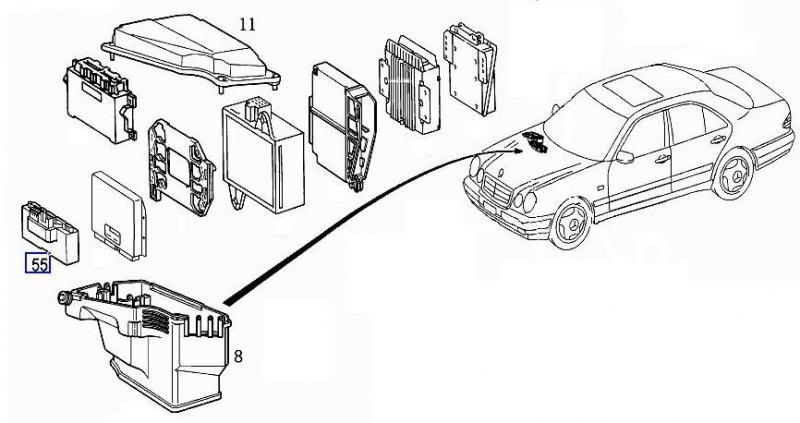1996 mercedes e320 fuse box diagram