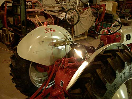 Ford 9 N Work Light wiring - Yesterday\u0027s Tractors
