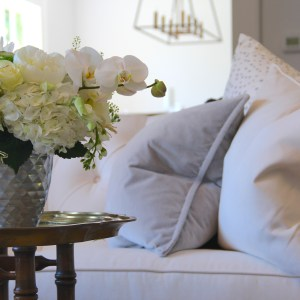 Gray and White Pillows – A Classic Combo