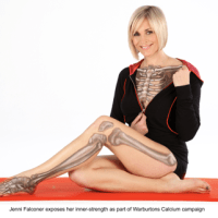 Jenni Falconer, for Warburtons