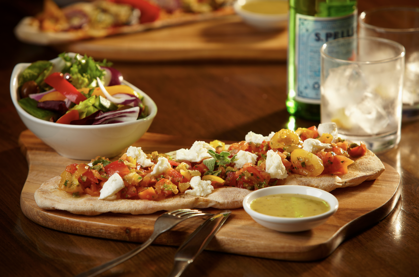 Review: healthy January dishes at Prezzo