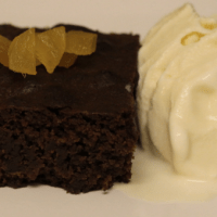 Stem Ginger Brownie